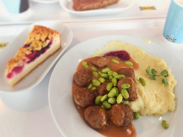 Ikeaレストランではスウェーデンミートボールが必食画像あり